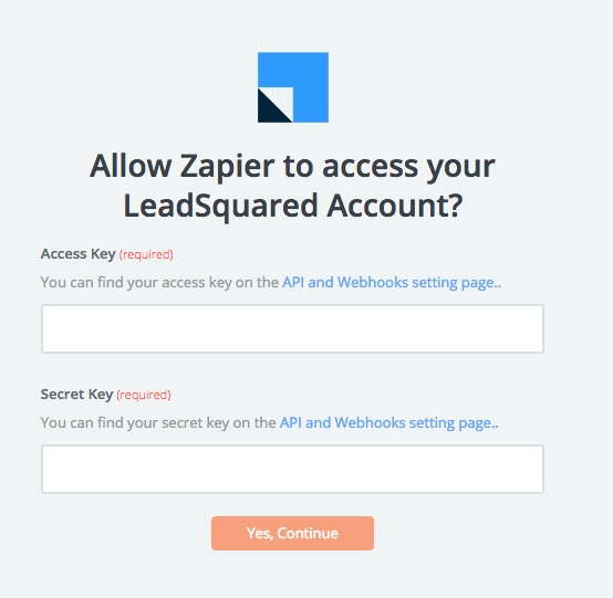 LeadSquared API Key
