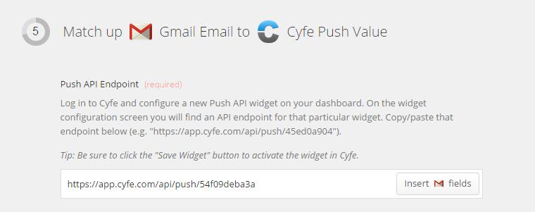 Zapier Push API Endpoint