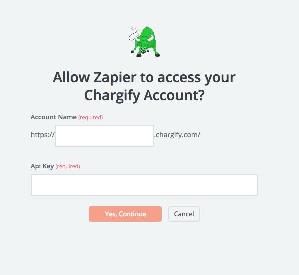 ChargifyAPI Key