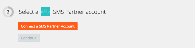 Click to connect SMS Partner