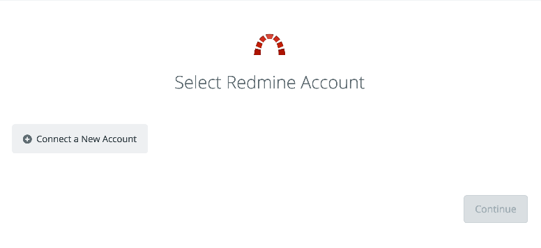Click to connect Redmine
