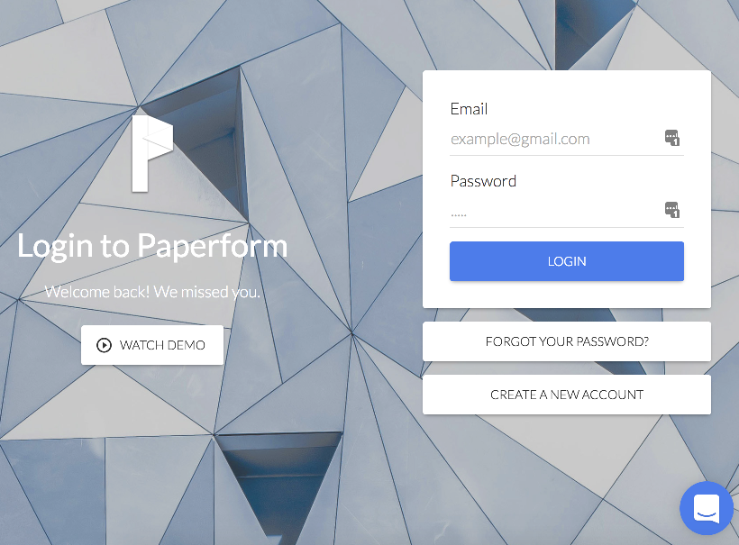Login to Paperform