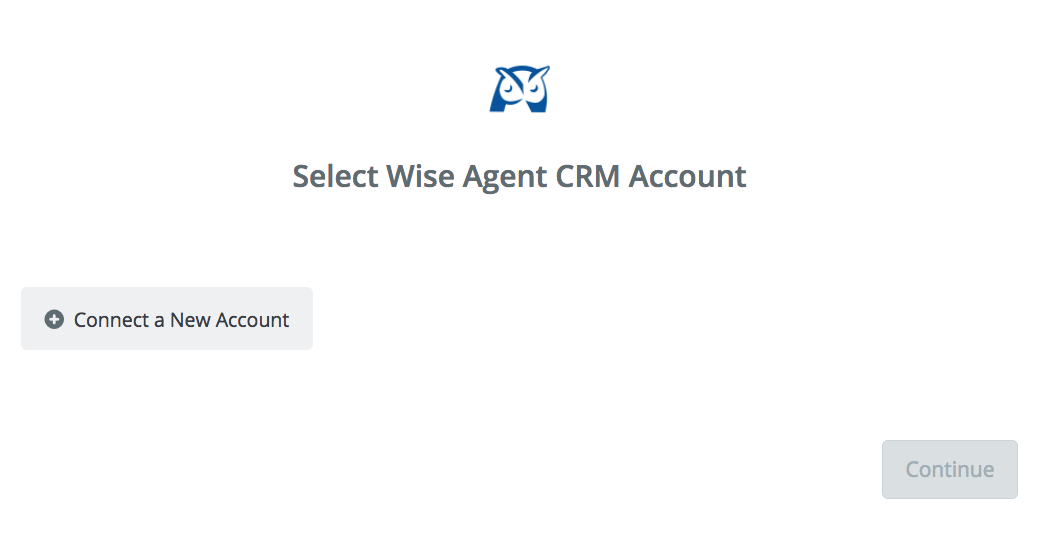 Click to connect Wise Agent CRM