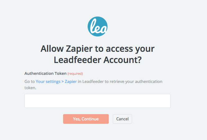 Leadfeeder API Key