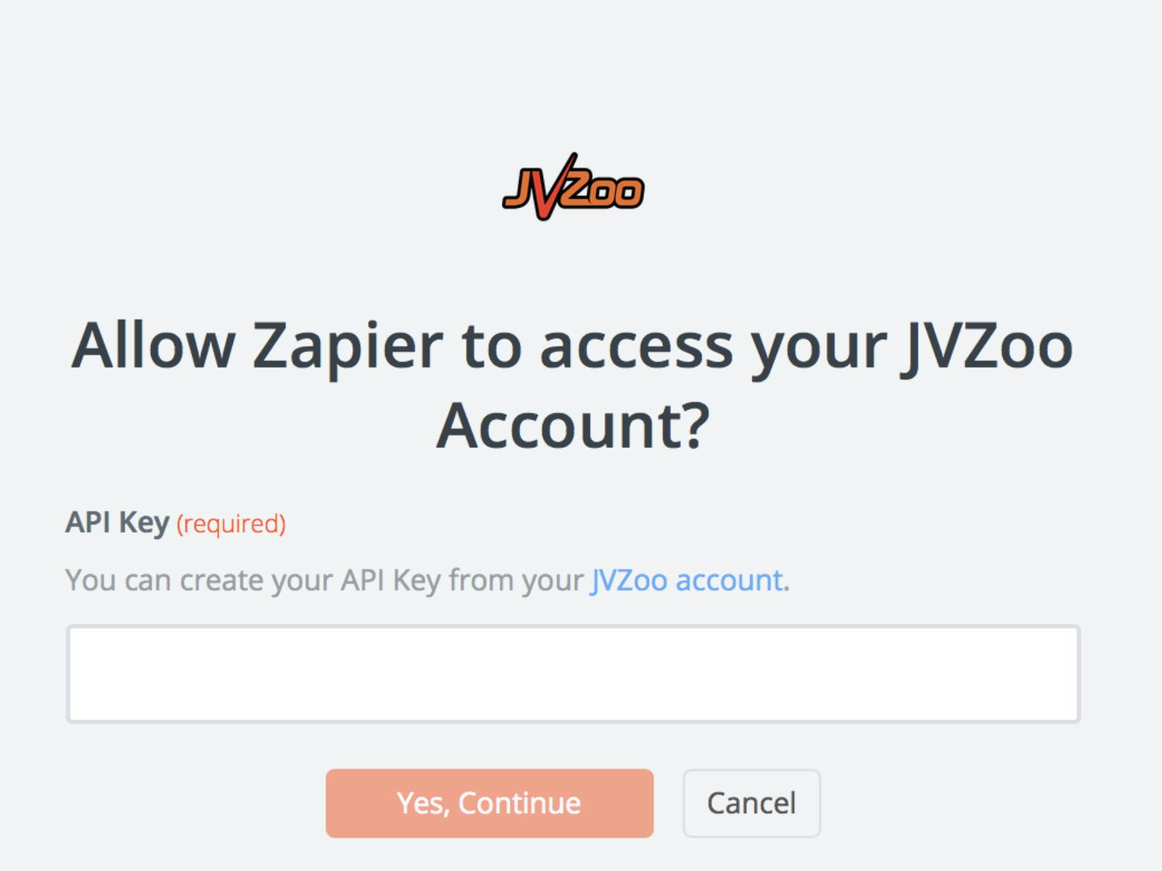 JVZoo username and password