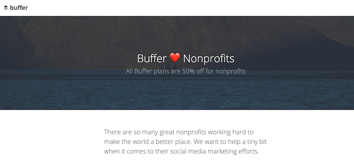 Buffer for Nonprofits