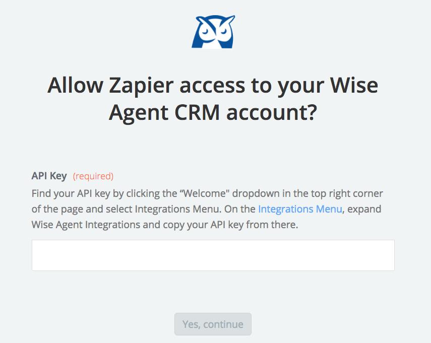 Wise Agent CRM API Key