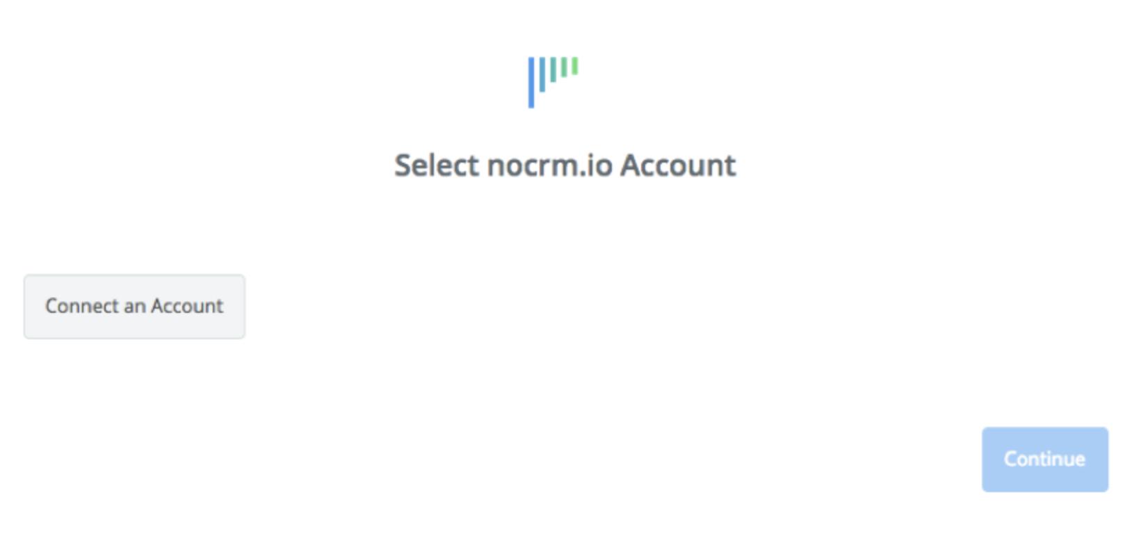 Click to connect noCRM.io