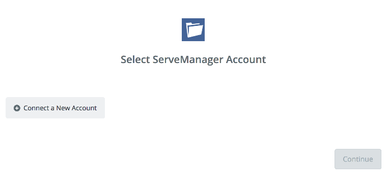 Click to connect  ServeManager
