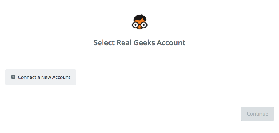 Click to connect Real Geeks