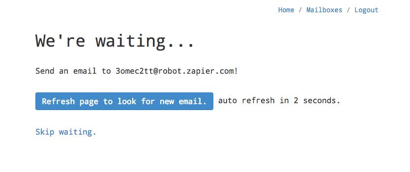 Zapier Email Parser Create