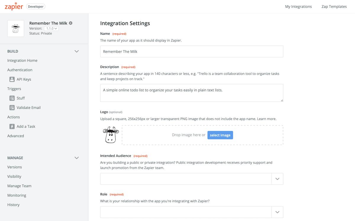 Manage App Details