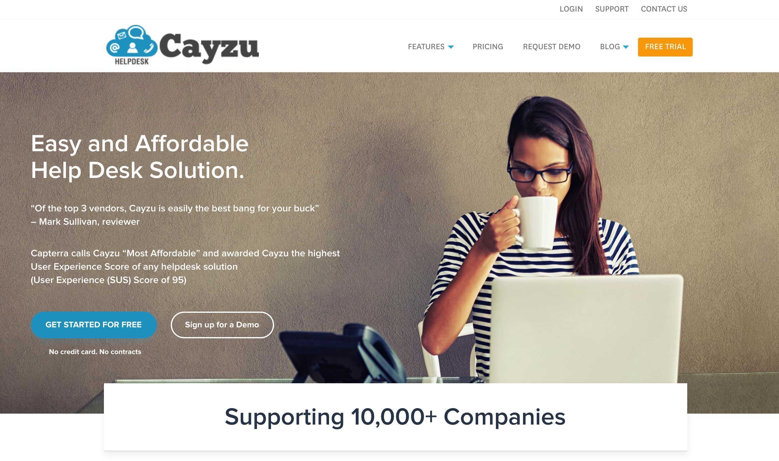 Cayzu home page