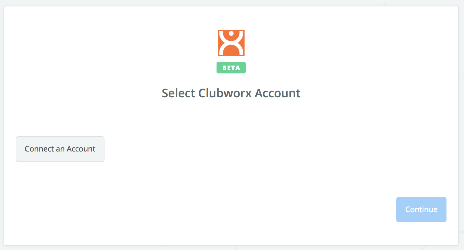 Click to connect Clubworx