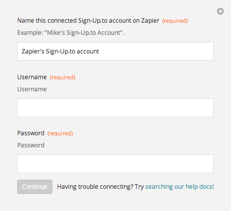 Finding your Sign-Up.to API Key