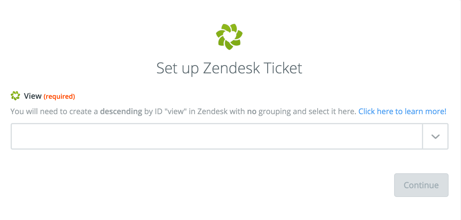 Zapier Zendesk Views