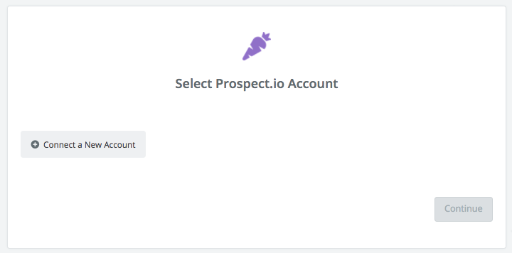Click to connect  Prospect.io