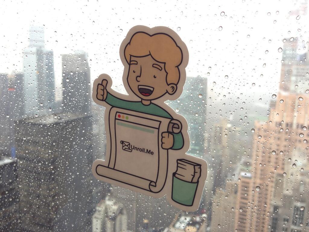 Unroll.Me Rainy Day