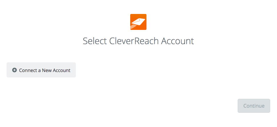 Click to connect CleverReach®