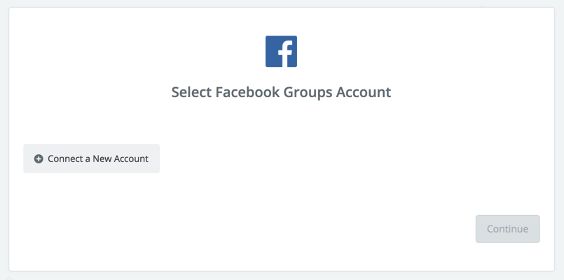 Click to connect Facebook Groups Docs
