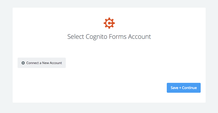 Connect your Cognito Forms account to Zapier