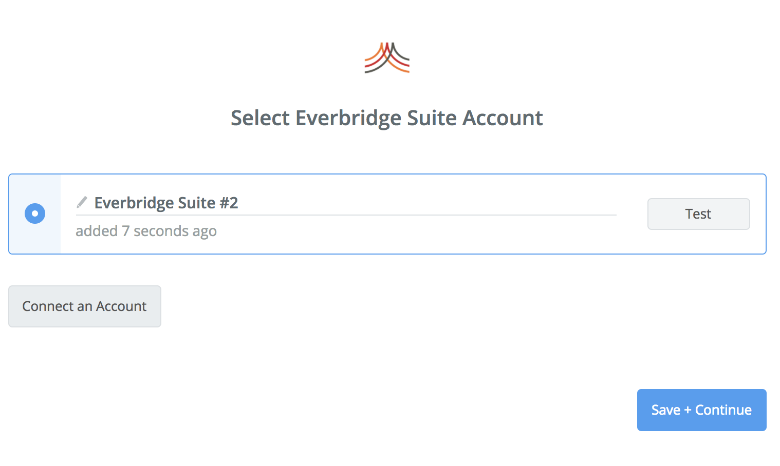 Everbridge Suite connection successfull