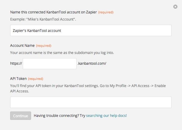 Finding your KanbanTool API Token