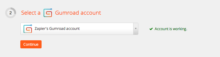 Your Gumroad account is authorized