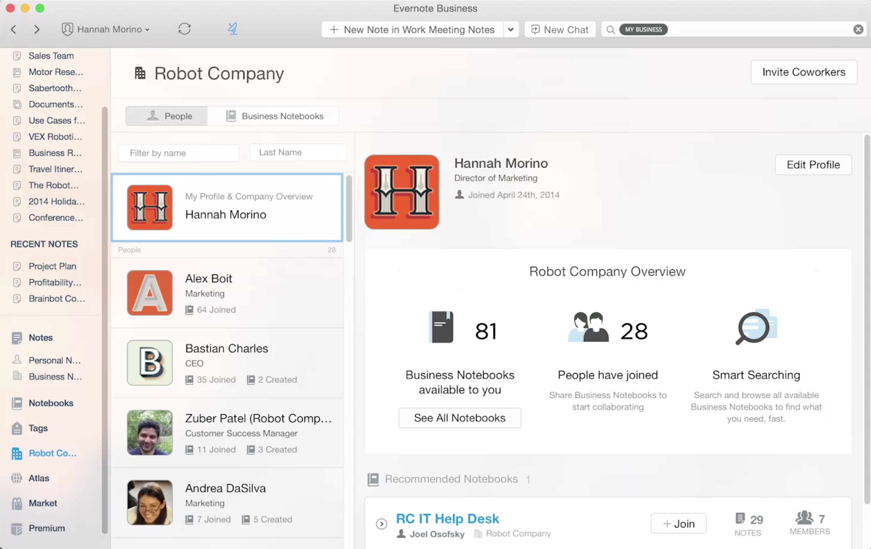 Evernote Business - Features, Pricing, Alternatives, and More | Zapier