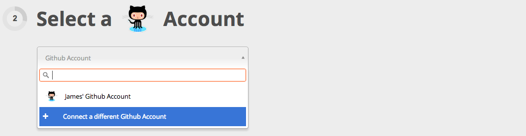 Connect your Github account to Zapier