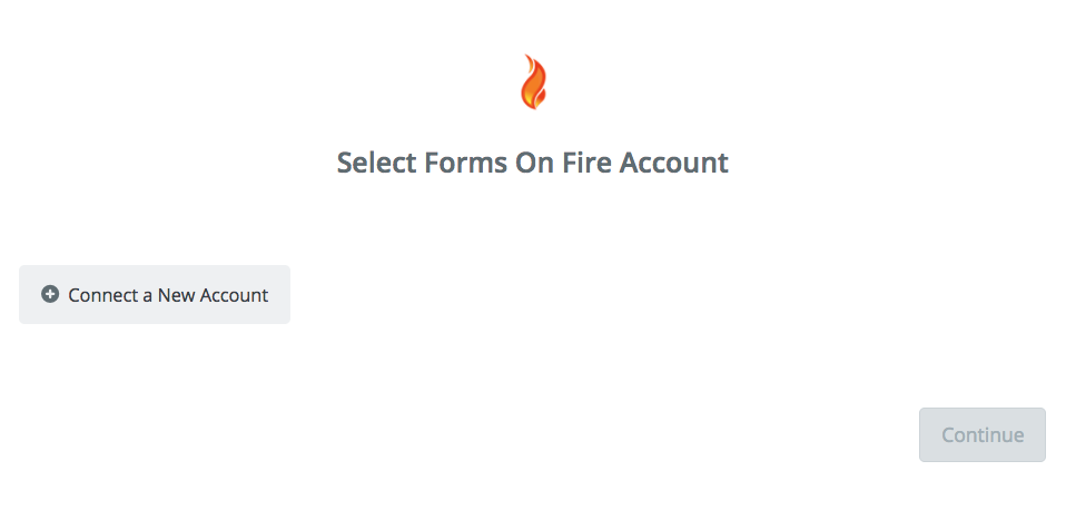 Click to connect Forms On Fire