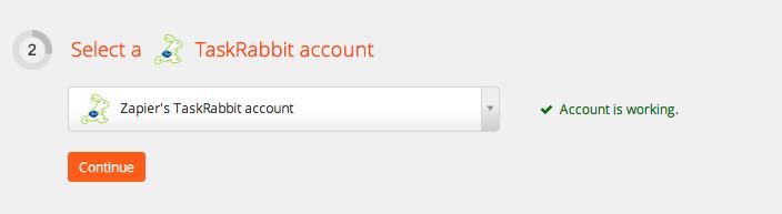 TaskRabbit Account Test