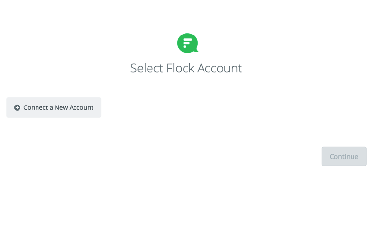 Click to connect Flock