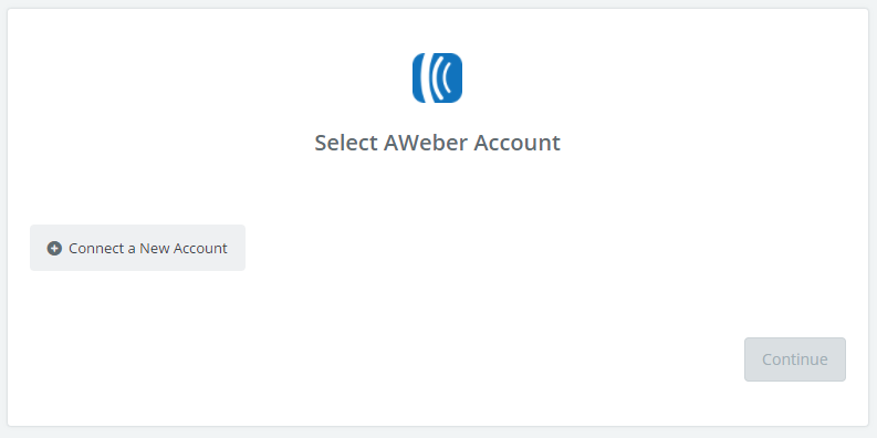 Click to add an account