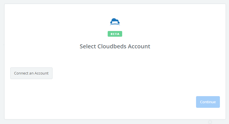 Click to connect Cloudbeds