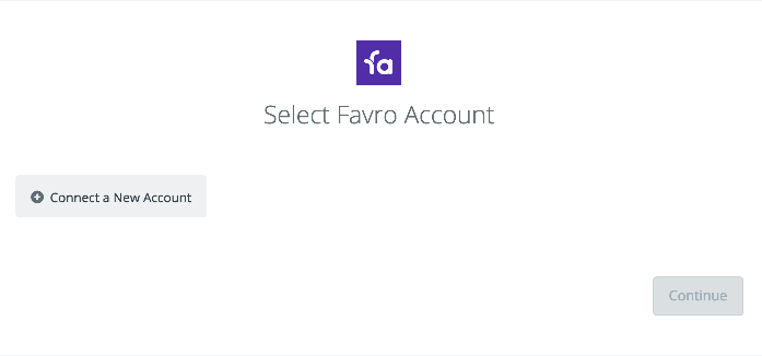 Click to connect Favro