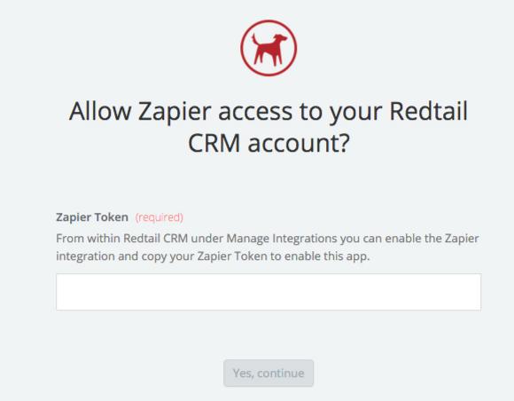 Redtail CRM API Key