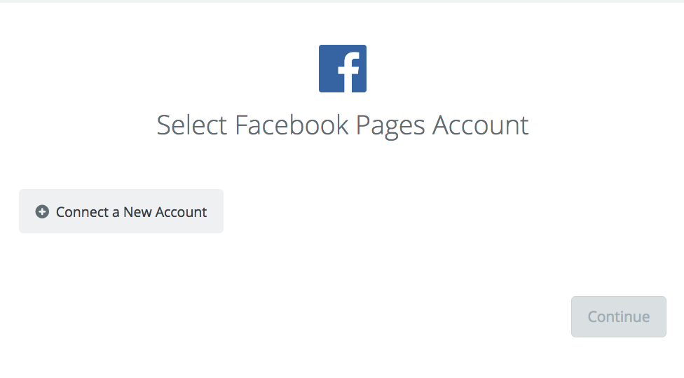 Click to connect Facebook Pages