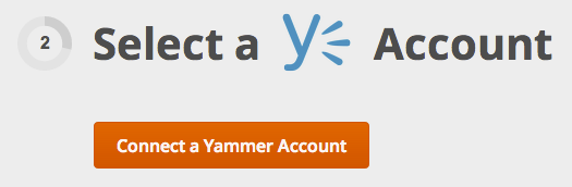 Connect Yammer 1