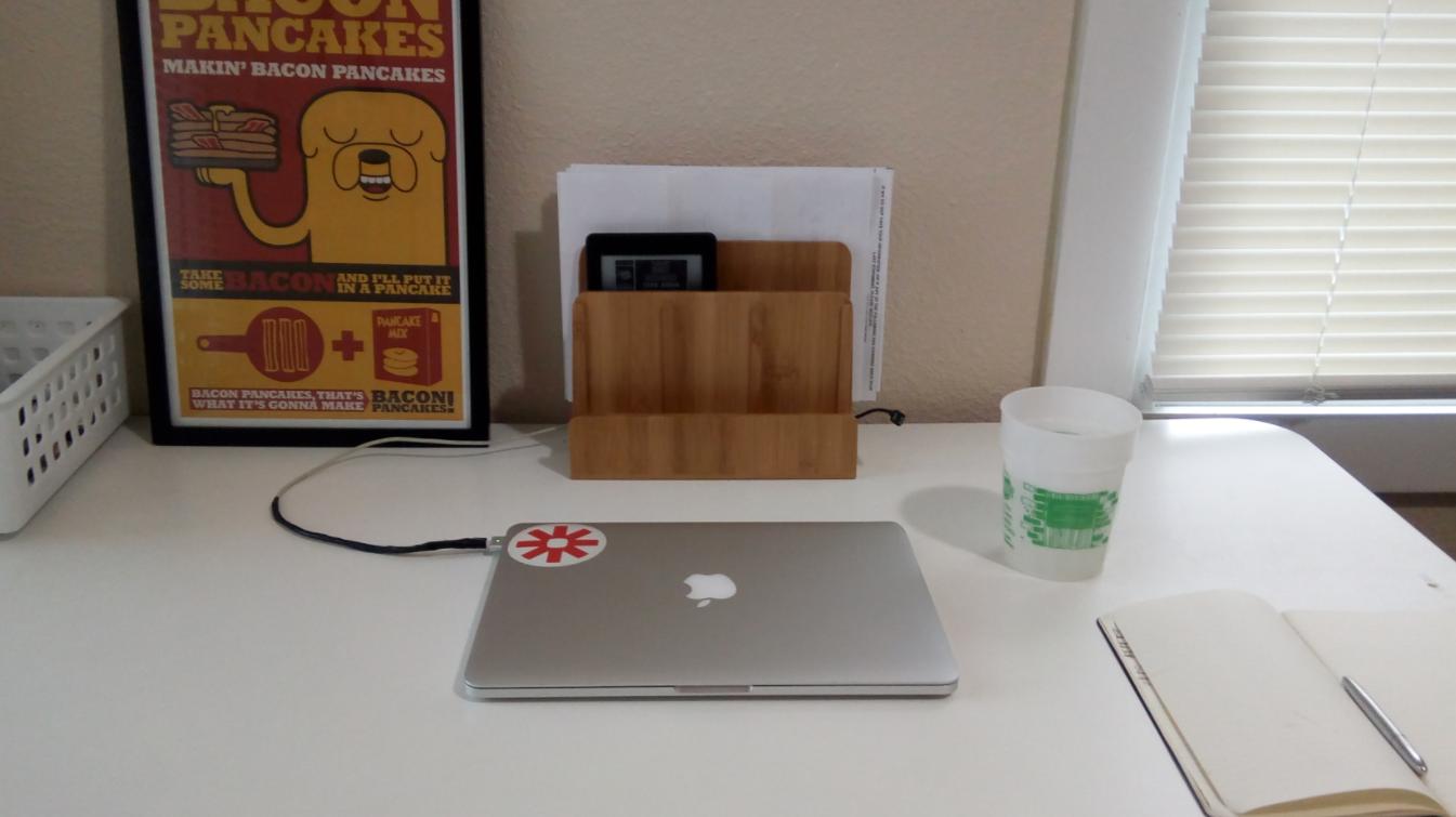 Micah Bennett's workspace