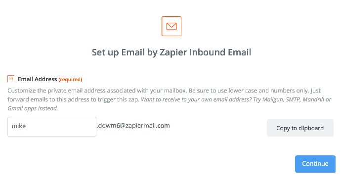 Email - Integration Help & Support | Zapier