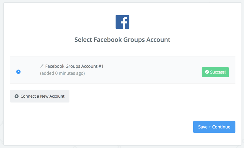 Facebook Groups - Integration Help & Support | Zapier
