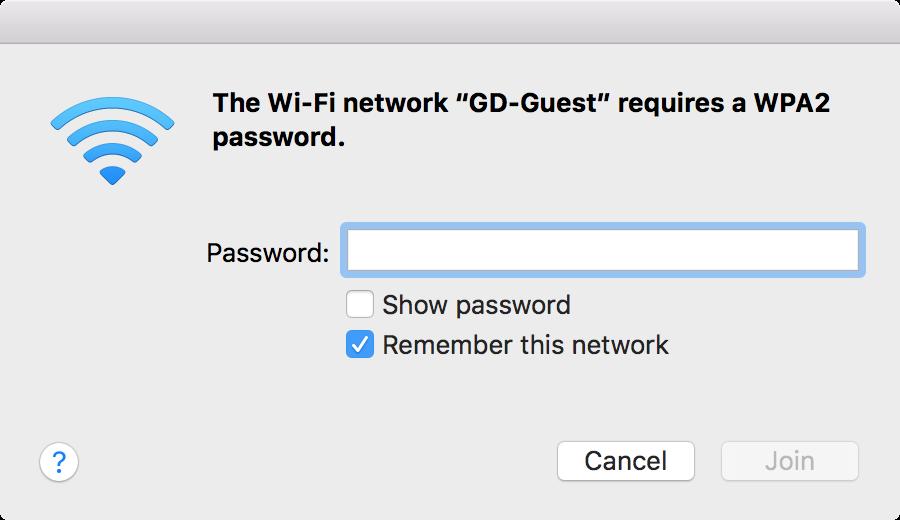 Wi-Fi login