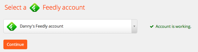 Zapier tests your account.