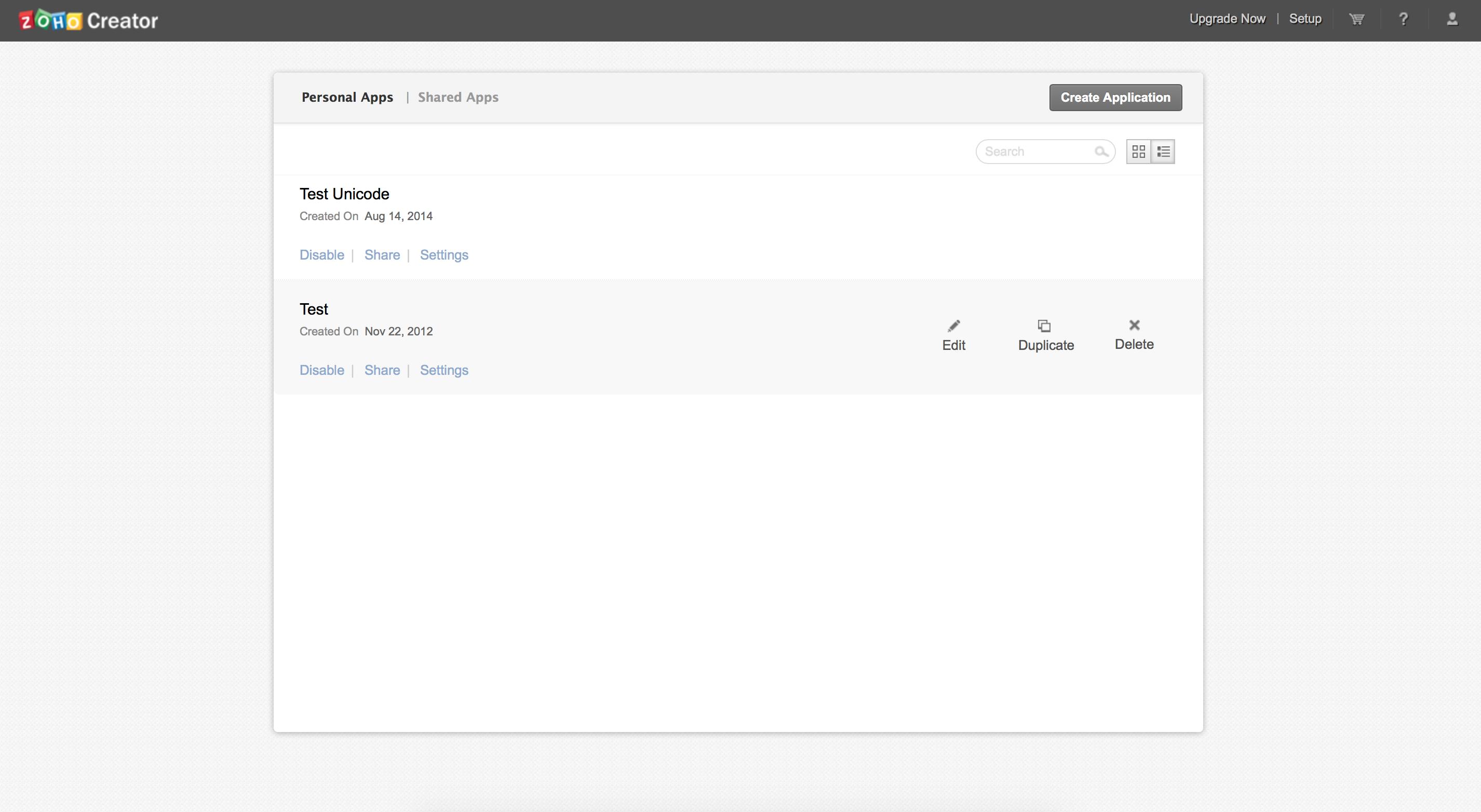 Zoho Creator Screenshot Examples & Demo Videos | Zapier