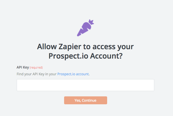 Prospect.io API Key