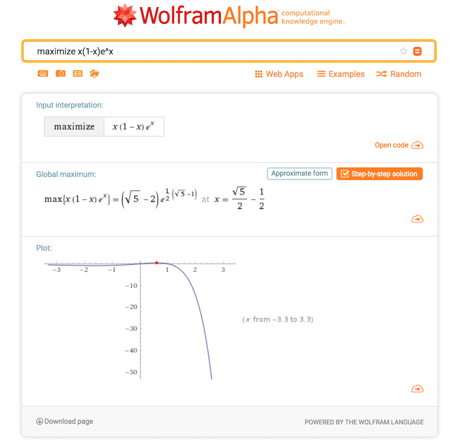 WolframAlpha pictured