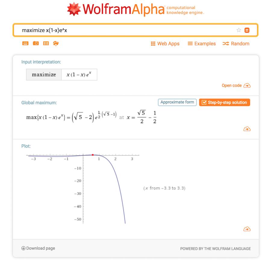 WolframAlpha pictured