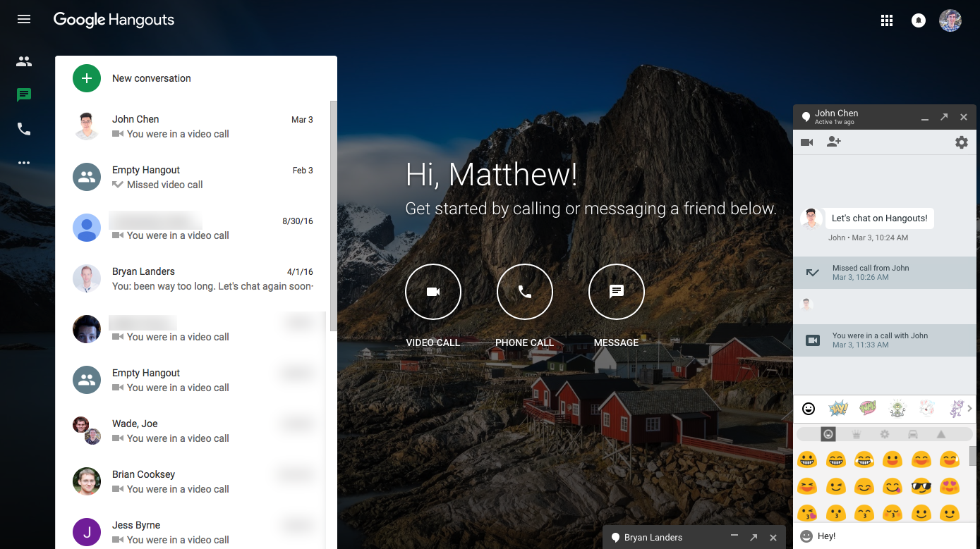Google hangouts client for windows phone 8 - Google Hangouts Is The Chat App For Everything For Now At Least It S The Chat App That S Built Into Gmail And On Android Combines Sms And Online Chat