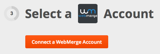 Connect WebMerge to Zapier